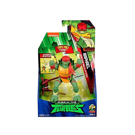Tortuga Ninja Figura Lujo / Raphael / 15 cms.