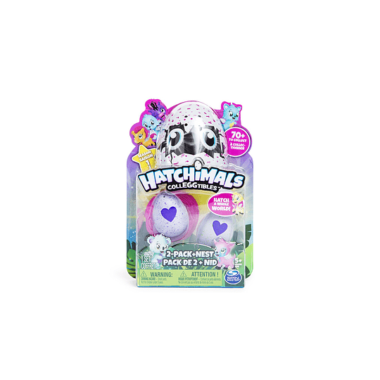 Hatchimals 2 Huevos Misteriosos
