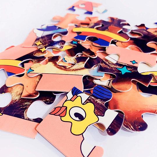 Puzzle Personalizado 30 piezas  / Unicornio