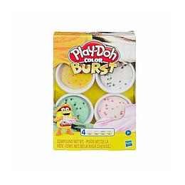 Set Play Doh Color Burst / Orange