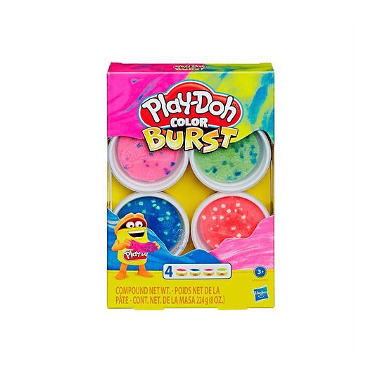 Set Play Doh Color Burst / Purple