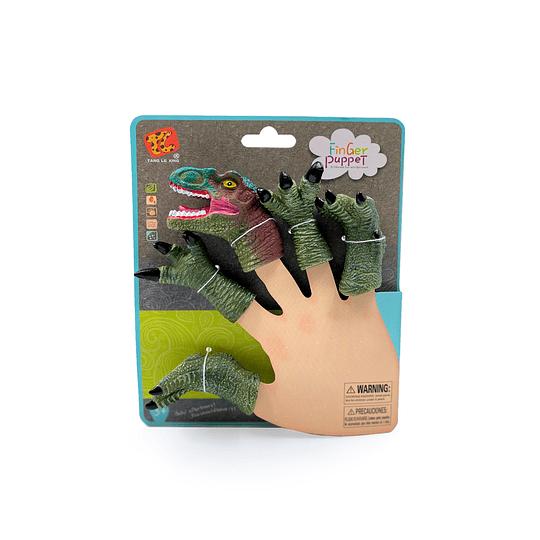 Dino Finger Verde