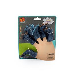Dino Finger Azul