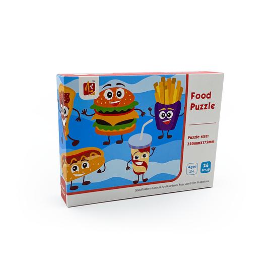 Puzzle Infantil / Food 25x17 cms