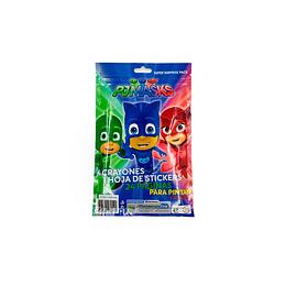 Set PJ Mask Coloreable
