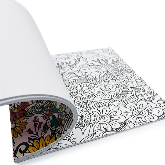 Libro para Coloreas / Flores Mandala