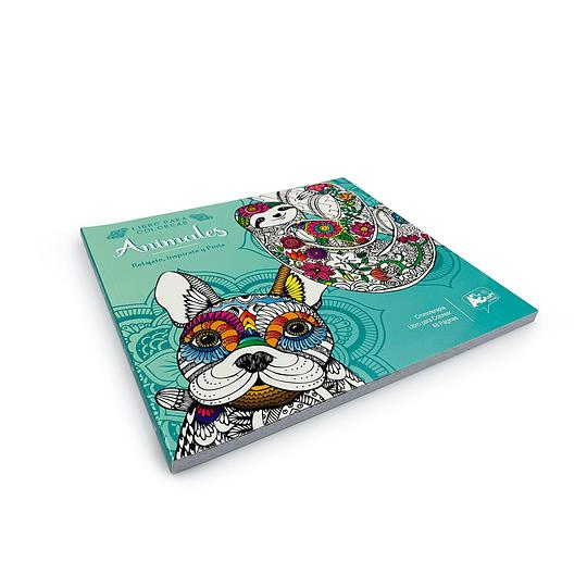 Libro para Coloreas / Animales Mandala