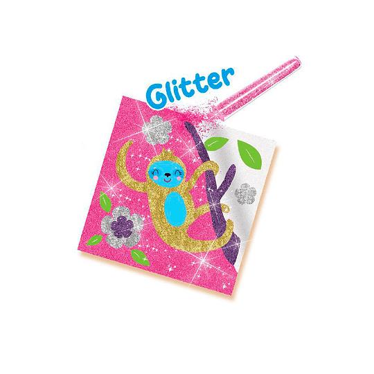 Juego Has Tus Tarjetas con Glitter
