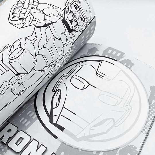 Súper Libro para Colorear Super Hero