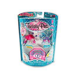 Pack x3 Twisty Petz Panda + Leopard + ?