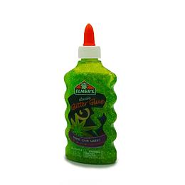 Classic Glitter Glue Green Slime