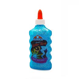 Classic Glitter Glue Blue Slime