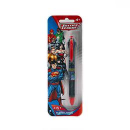 Lápiz Justice League 4 Colores en 1