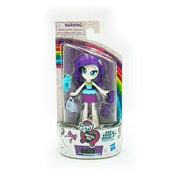 My Little Pony Equestria Girls Brigada / Rarity 7.5 cm con accesorios