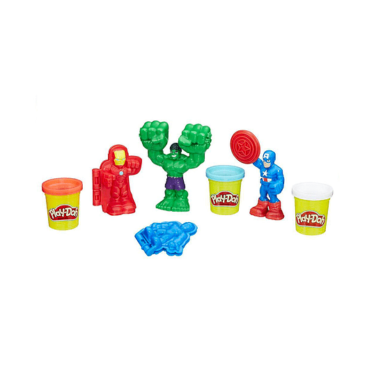 Set PlayDoh Marvel
