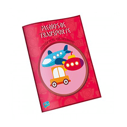 Libro para Colorear / Medios de Transportes