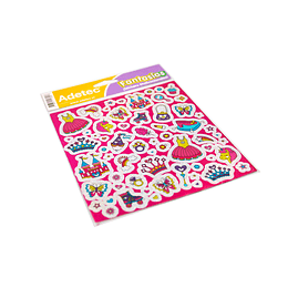 Lámina de Stickers Princesas