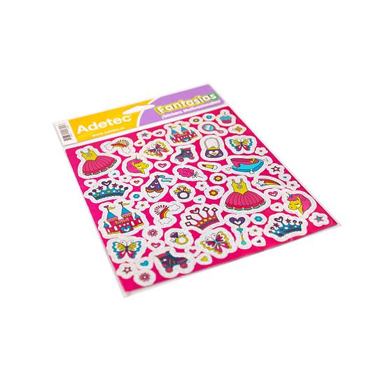 Lámina de Stickers Princesas