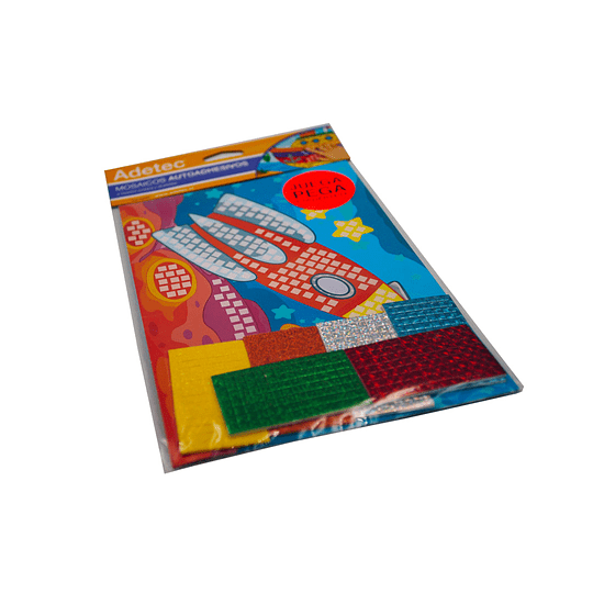 Mosaico Autoadhesivo / Cohete & Barco