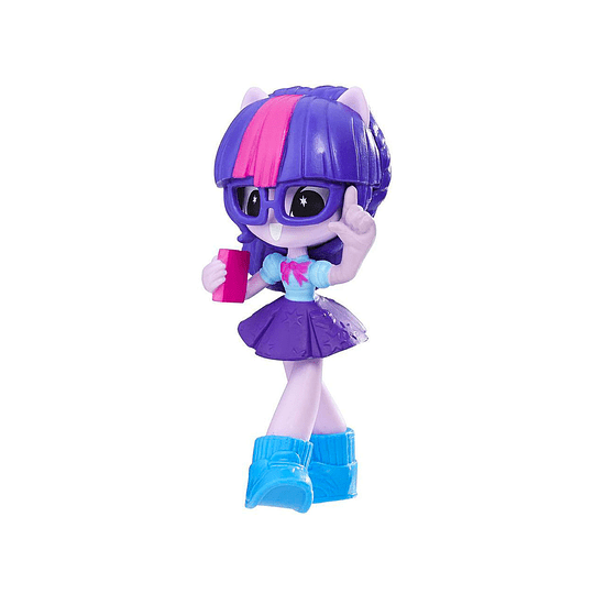My Little Pony Equestria Girls / Twilight Sparkle Mini de 7.5 cm