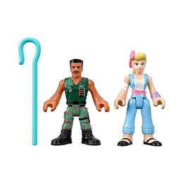 Toy Story 4 / Combat Carl + Bo Peep