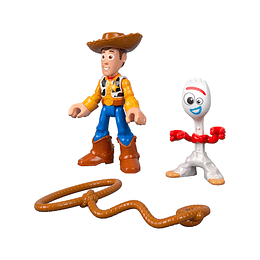 Toy Story 4 / Woody + Forky