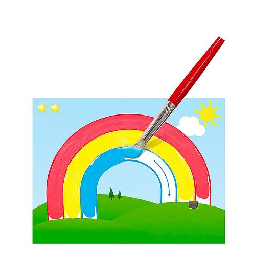 Juego Aprender a Pintar con Témpera