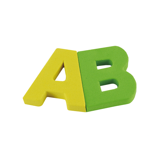 Puzzle Abecedario Goma Eva