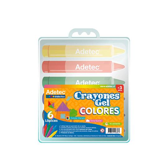 Crayones Gel Colores Didácticos