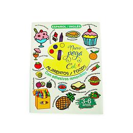 Librillo Pega Color / Comida y Frutas