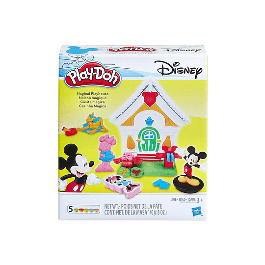 Set PlayDoh Disney Casita Mágica de Mickey Mouse