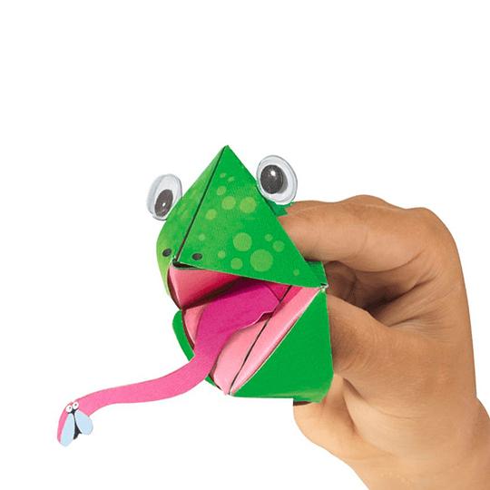Juego para Armar Marionetas de Papel Animales