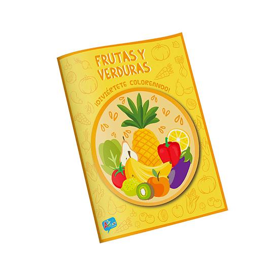 Libro para Colorear / Frutas y Verduras