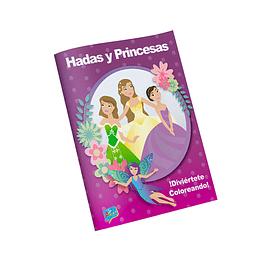 Libro para Colorear / Hadas y Princesas
