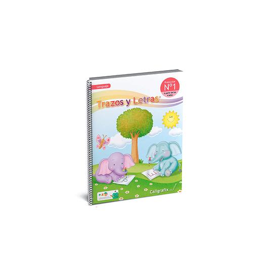 Cuaderno Interactivo / Trazos y Letras 1 (PreKínder)