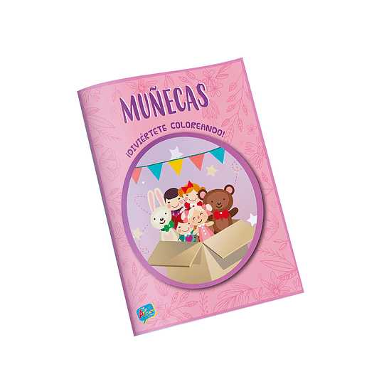 Libro para Colorear / Muñecas