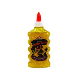 Classic Glitter Glue Yellow Slime