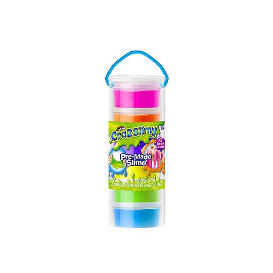 Pack 6 Mini Slimy Goop 28g
