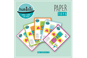 Paper Toys Huminis