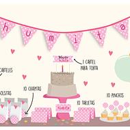 Kit fiesta rosa