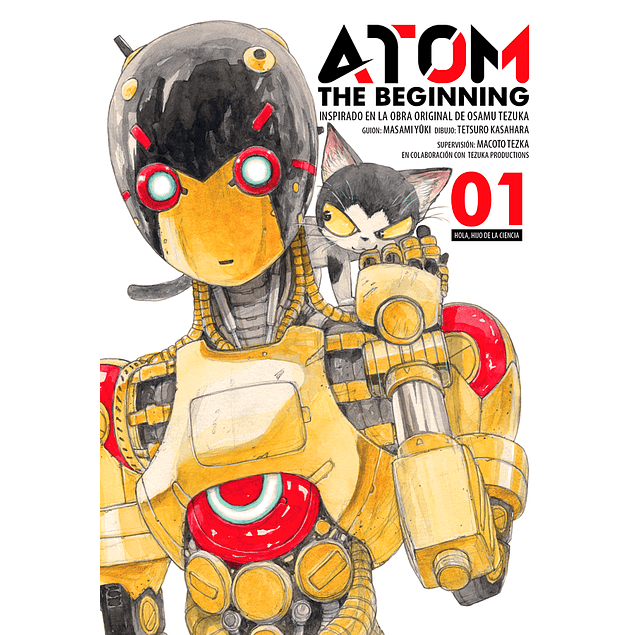 ATOM THE BEGINNING VOL. 1