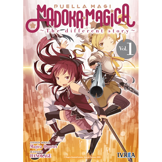 PUELLA MAGI MADOKA MAGICA: THE DIFFERENT STORY 01