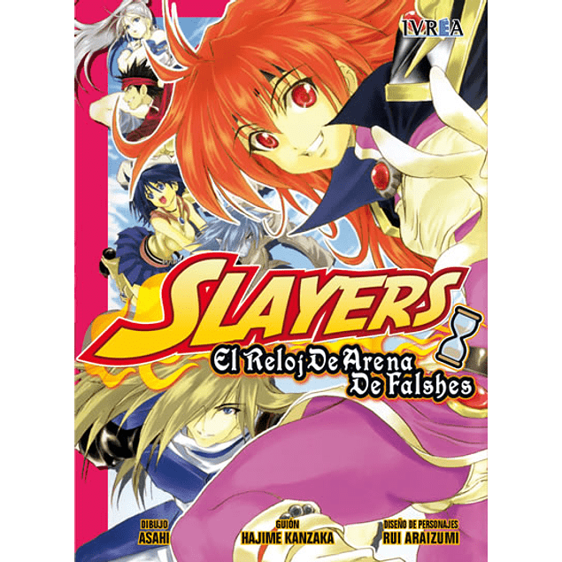 SLAYERS  EL RELOJ DE ARENA DE FALSHES UNICO