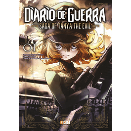 DIARIO DE GUERRA - SAGA OF TANYA THE EVIL NUM. 01