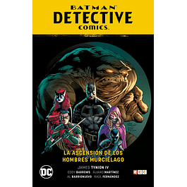 BATMAN: DETECTIVE COMICS VOL. 01: LA ASCENSION DE LOS HOMBRES MURCIELAGO