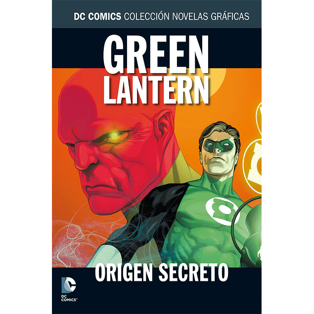 BATMAN Y SUPERMAN - COLECCION NOVELAS GRAFICAS NUM. 06: GREEN LANTERN: ORIGEN SECRETO