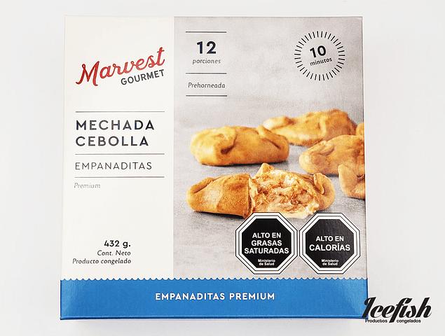 12 Empanadas Mechada Cebolla