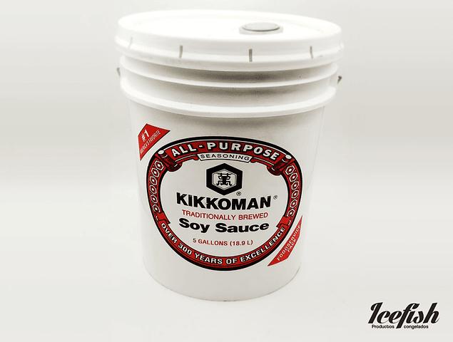 Salsa Soya Kikkoman 18.9 Lts.
