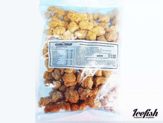 Pop Corn Pollos Rebozados Kg.