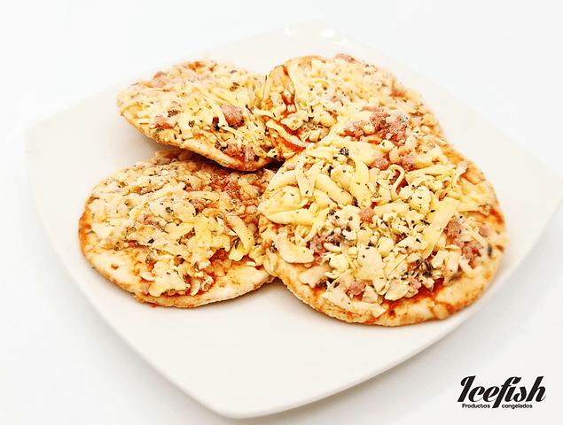 "16 Pizzetas Jamón Queso ""La Picha"" Biosal"